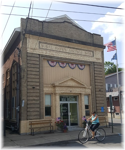 White Haven Savings Bank (now Boro Building) 8/26/17
