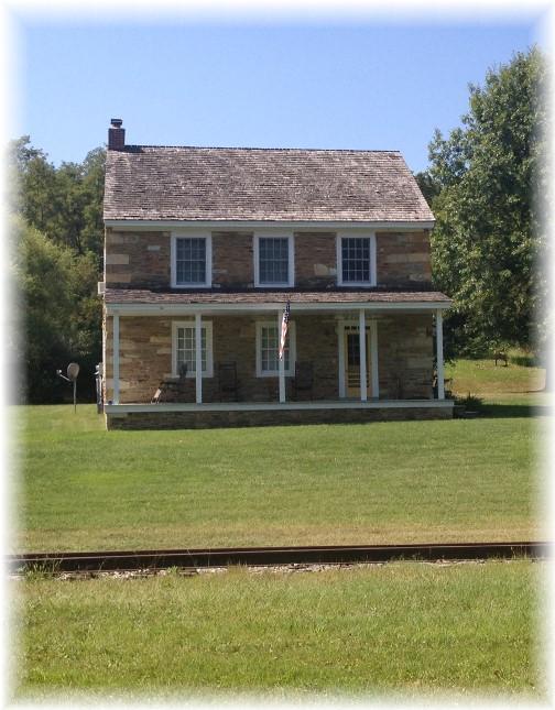Old stone farmhouse along York Heritage Rail Trail 9/8/15
