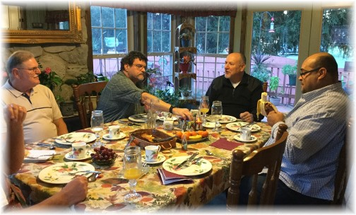 Band Of Brothers Breakfast (Faith Community) 10/17/15