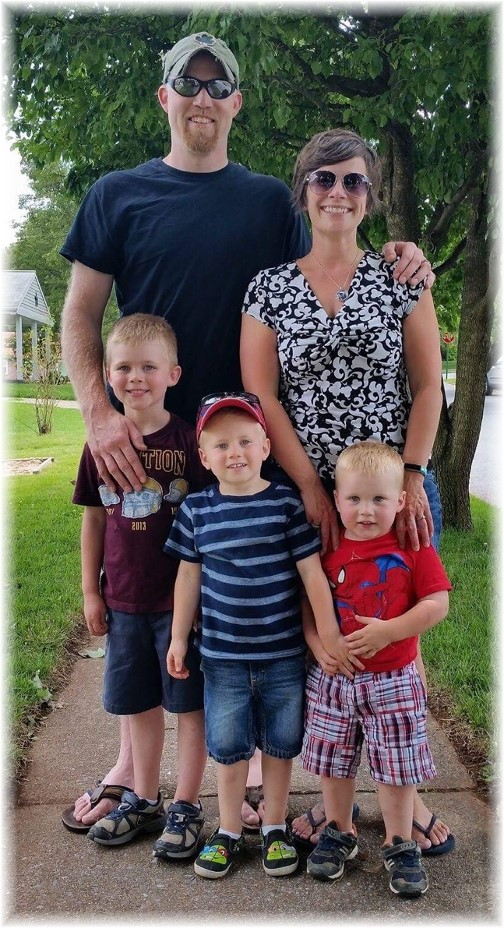 Ben Foose family 7/8/17