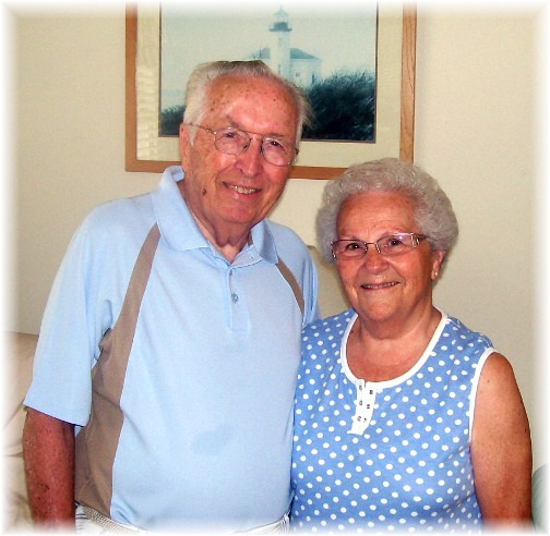 Ed and Gladys Berkey 7/18/12