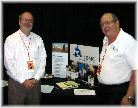 "CBMC friends at ""Men at the Cross"" conference photo"