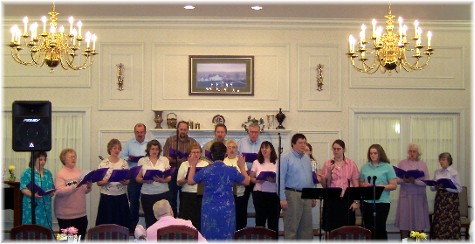 Choir at Longwood