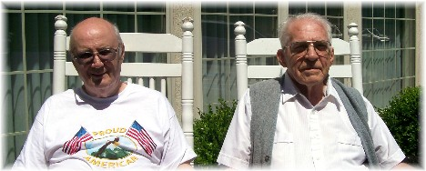 WW2 veterans Clarence & Charles 5/30/10