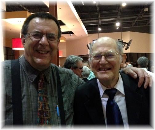 David Selleck at ordination service, Reading PA 5/6/15