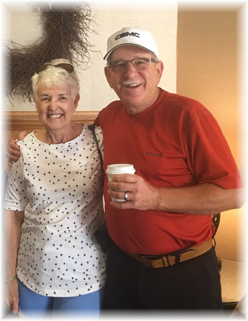 Don and Carole Musser 7/22/17