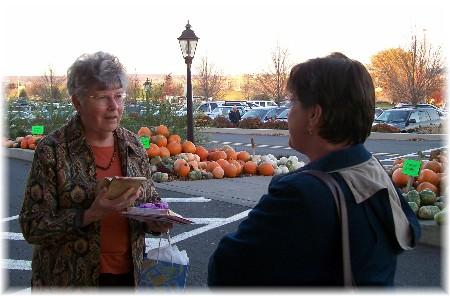Dorothy Schmidt with Brooksyne (11/6/09)