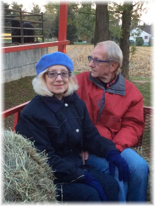 Doug and Marion 10/12/14
