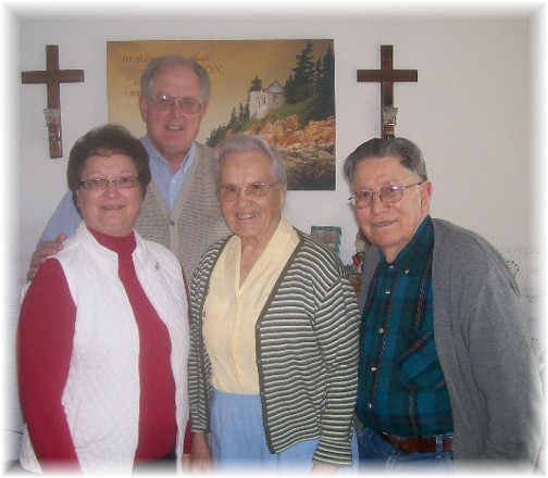 Jesse & Wilma Dourte and John & Faithe Keefer
