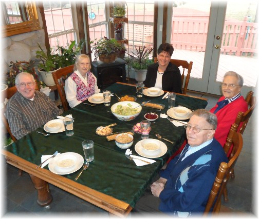 Jesse and Wilma Dourte, Luke and Anna Mae Pierce 2/17/13
