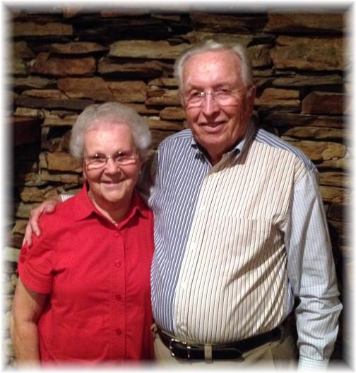 Ed & Gladys Berkey 09-26-14