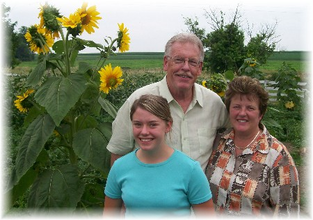 David Fisher and family