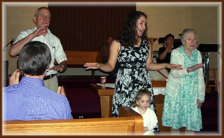 Four generations proclaiming God's love