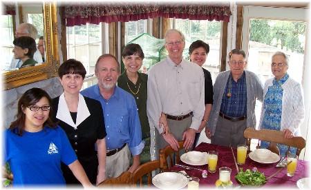 Friends for dinner 4/11/10