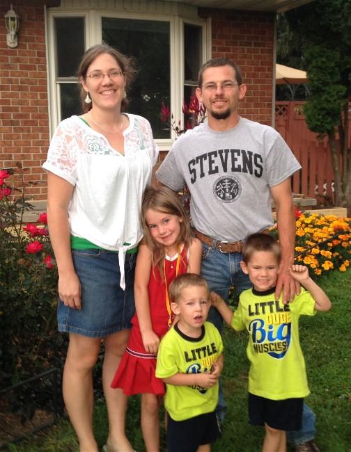 Gardner family 8/20/14