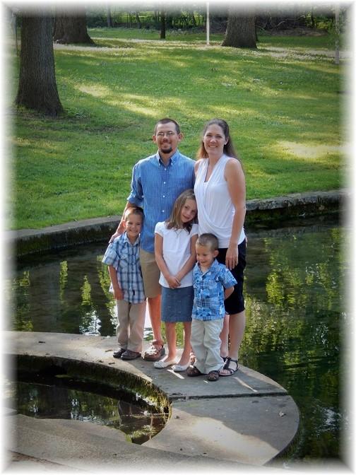 Gardner family at Donegal Springs (Photo by Ester Weber)