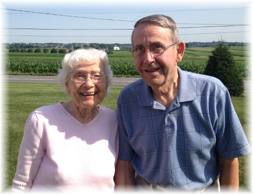 Henry and Marion Leaman 7/18/14