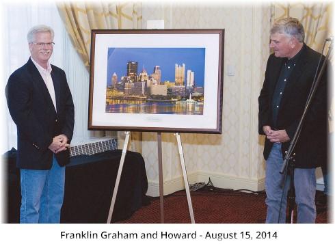 Howard Blichfeldt with Franklin Graham