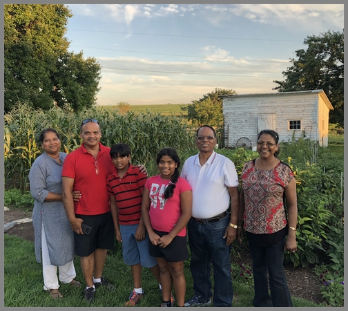 Indian families on Old Windmill Farm 8/25/18