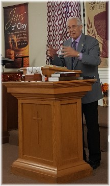 Jack Provard preaching 11/5/17 (Click to enlarge)