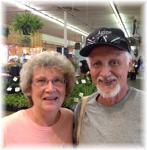 Jerry and Marcy Cain 8/25/15