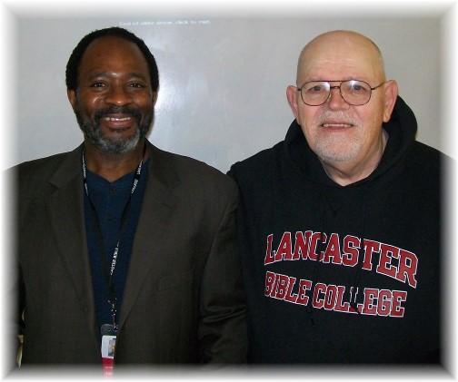 Jim Smith with LBC prof