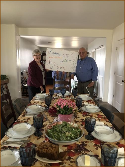 Jim and Dorothy Schmidt, 4/3/19