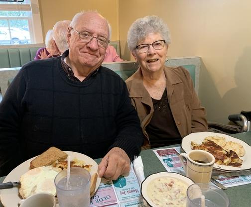 Jim and Dorothy Schmidt 10/20/19