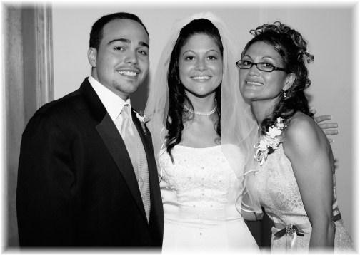 Joe, Nicole and Yvette