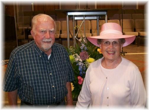 John and Bonita Watts 7/14/13
