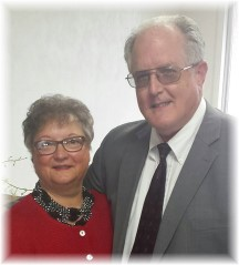 John and Faithe Keefer 46th anniversary