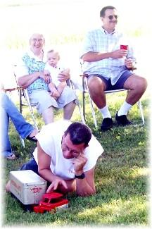 Ken Pierce 40th birthday party