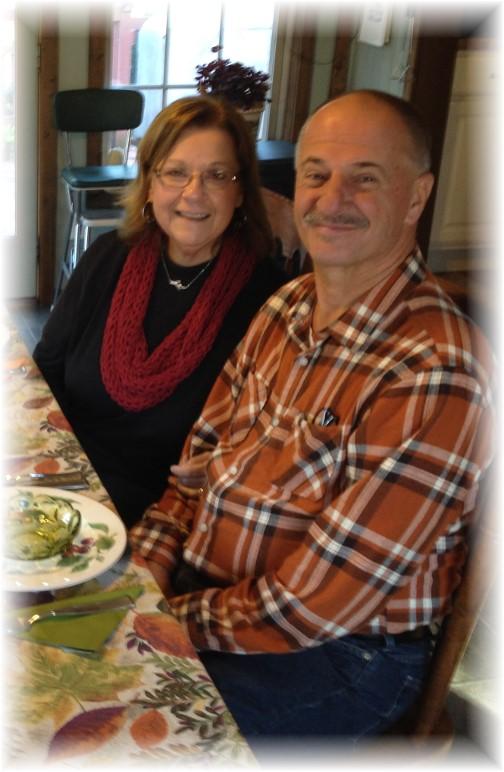 Larry and Tina Kester 10/31/15