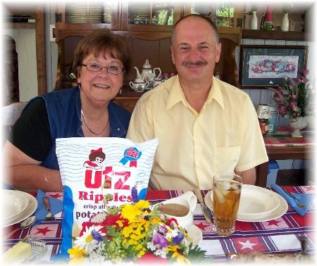Larry and Tina Kester 7/19/09