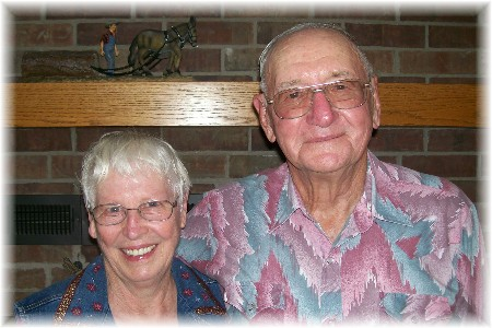 Clarence & Ilene 8/16/09
