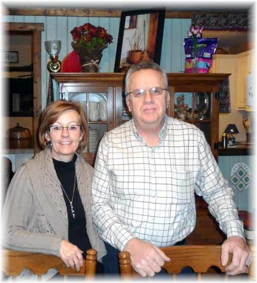 Lee and Pam Smucker 2/15/13