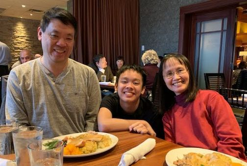 Nigel & Laifong Lee family