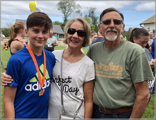 Lloyd and Mary Ann Miller with grandson 9/15/18