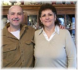 Ray and Vicky Mancini