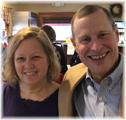 Mark and Carolyn Pulliam 2/23/18
