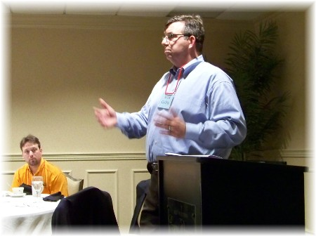Mark Griffin at CBMC meeting