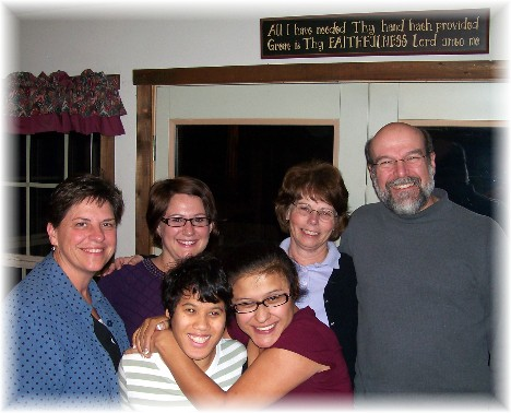 Matangelo family & Jeanette 11-09-10