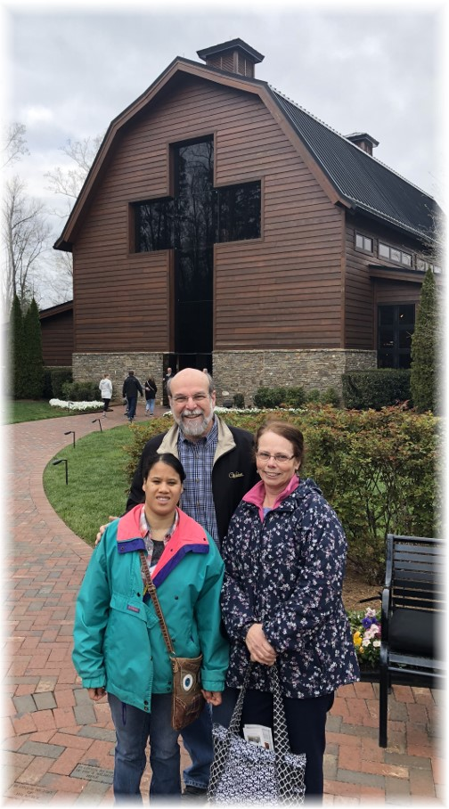 With Matangelos at Billy Graham Library 3/19/18