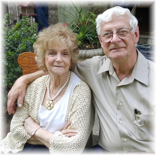 Mervin and Lois Buckwalter 50th anniversary 5/28/16