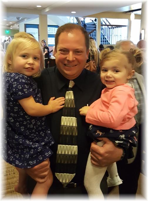 Mike Diehl with granddaughters 5/7/17