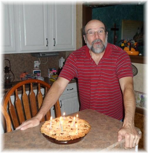 Mike Matangelo birthday pie 9/10/12