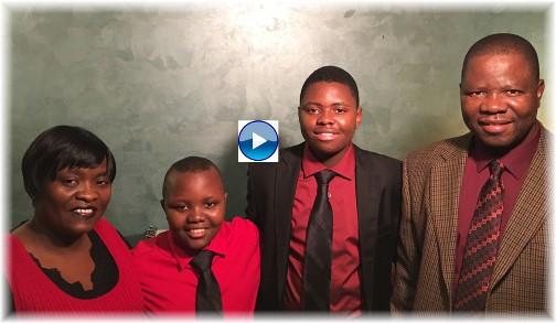 """Ncube family (Click to play """"Joy To The World"""")"""