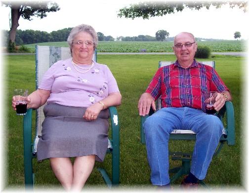 Nelson and Hazel Ressler 6/19/11