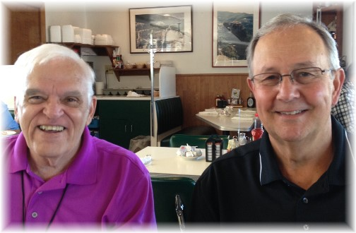 Nick Nichols & Dick Shellenberger 07-25-14