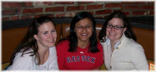 Nicole and Jackie with Ester, Boston, Massachusetts